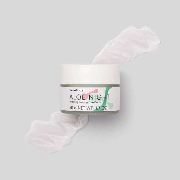Aloé Night Hydrating Sleeping Face Cream